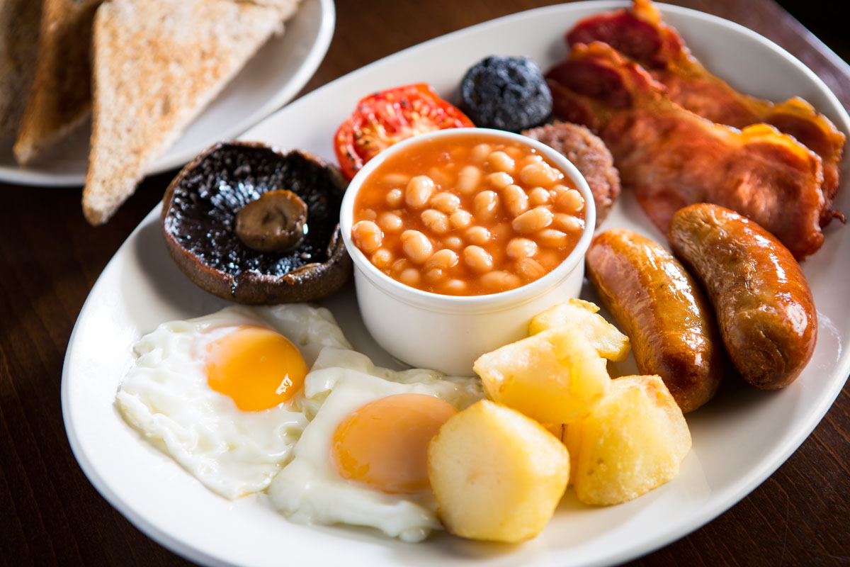 Full English Breakfast Cafe